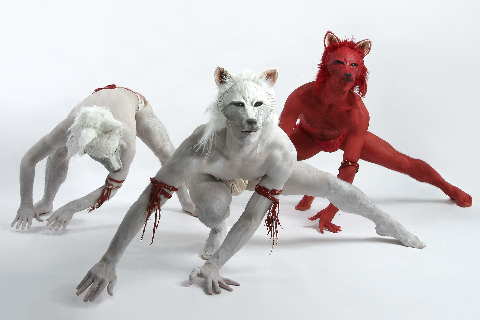 Wolf-in-Skins - Direction and Choreography by Christopher Williams, Costume Design by Andrew Jordan